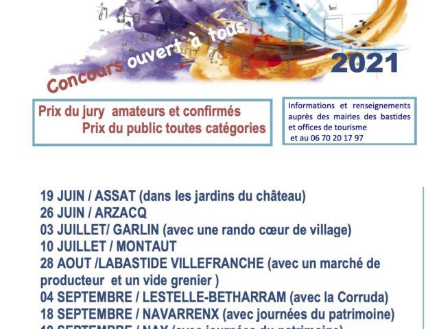 Concours Peindre en Bastide- 2021