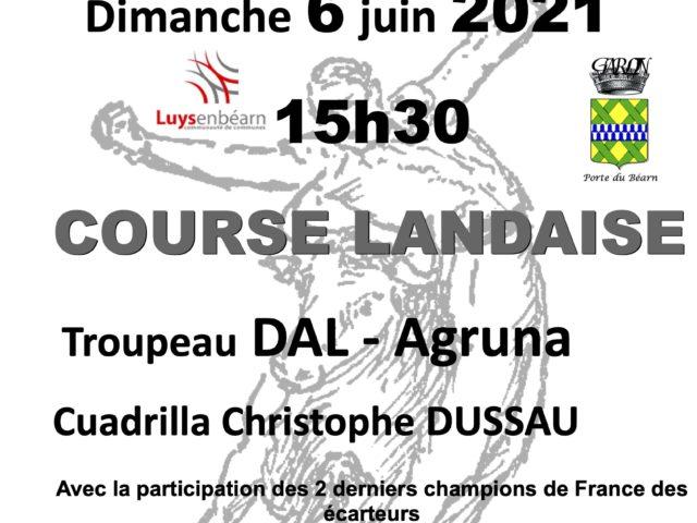 1ère Course landaise 2021