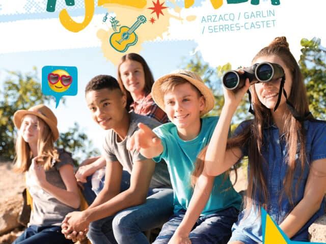 Pré-inscriptions Activités Espaces Jeunes / Vacances d'été 2021