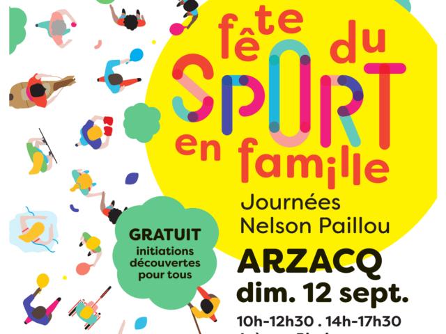 « Journée Nelson Paillou – Fête du Sport en Famille »