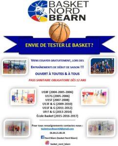 La saison a débuté au club Nord Béarn !!