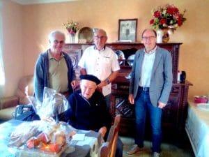 Antonin Poulit a fêté son centième anniversaire